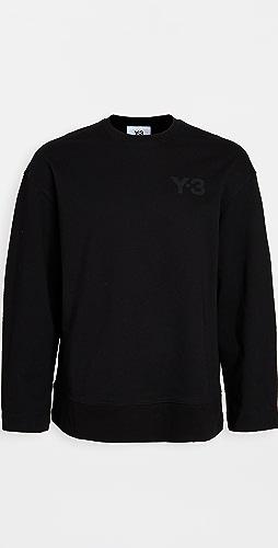 Y-3 - Y-3 Logo Crew Neck Sweatshirt