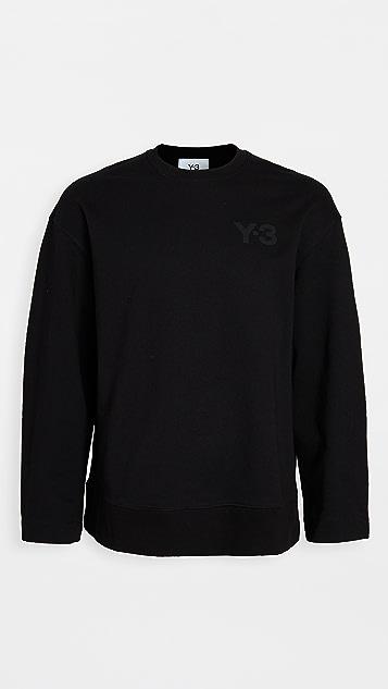 Y-3 Y-3 Logo Crew Neck Sweatshirt