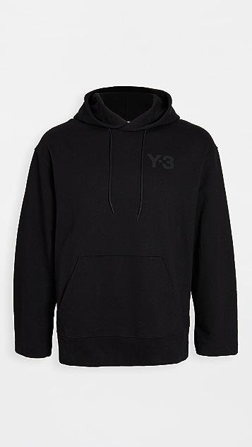 Y-3 Y-3 Logo Pullover Hoodie