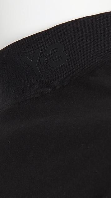 Y-3 Y-3 Logo Mock Neck Long Sleeve Shirt