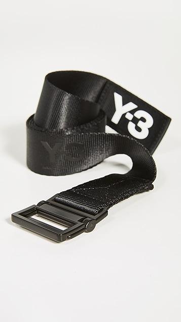 Y-3 Y-3 Classic Logo Belt