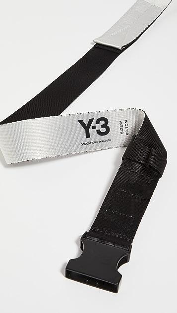 Y-3 Y-3 CH2 2-Tone Belt