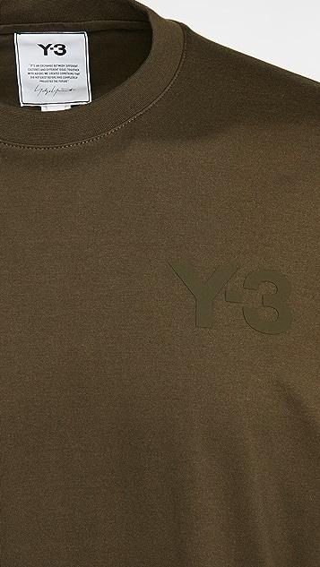 Y-3 Classic Chest Logo Short Sleeve Tee