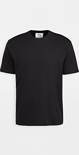 Y-3 - 3 Stripe Short Sleeve Tee