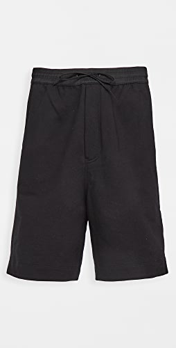 Y-3 - 3 Stripe Terry Shorts