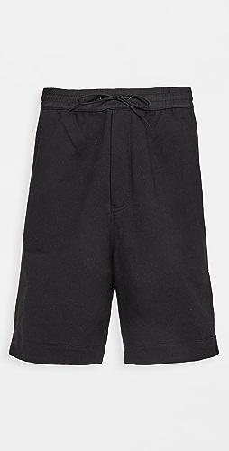 Y-3 - 3 Stripe Terry Shorts