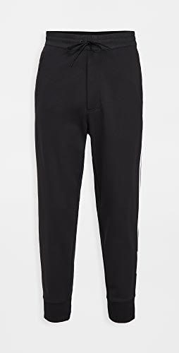 Y-3 - 3 Stripe Cuffed Track Pants