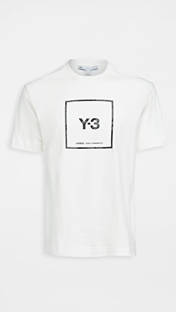 Y-3 Square Label Graphic Tee
