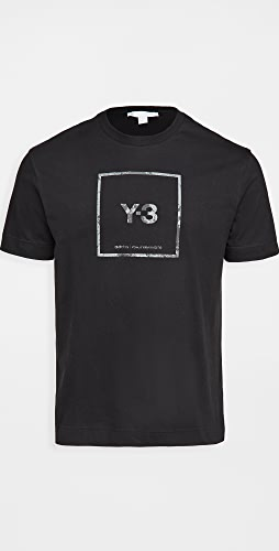 Y-3 - Square Label Graphic Tee
