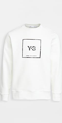 Y-3 - Square Label Graphic Crew Sweatshirt