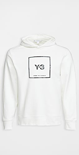 Y-3 - Square Label Graphic Hoodie