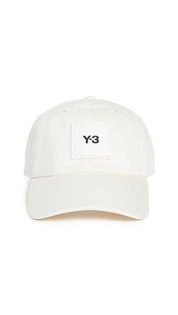 Y-3 Y-3 Square Label Cap