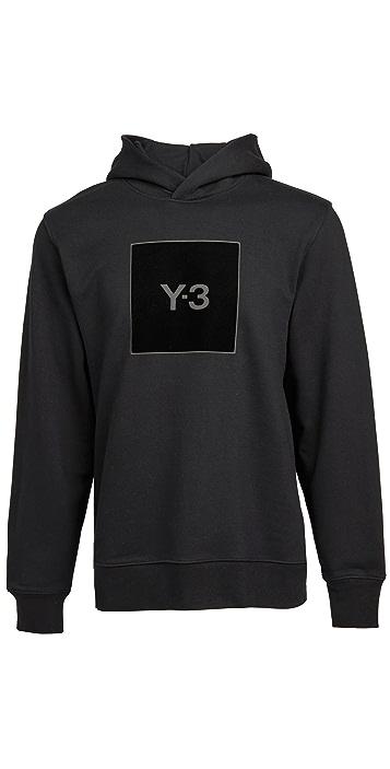 Y-3 U Square Logo Hoodie