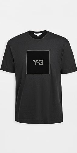 Y-3 - U Square Logo Tee
