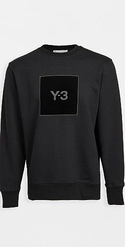 Y-3 - U Square Logo Crew Sweatshirt