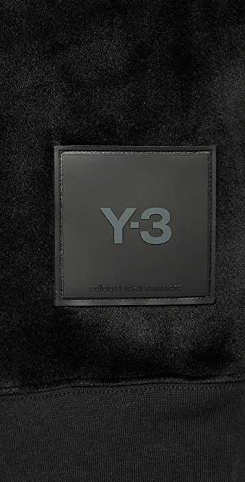 Y-3 U Square Spacer Crew Sweatshirt