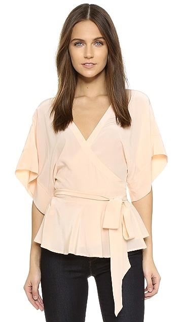 Yumi Kim That's a Wrap Top