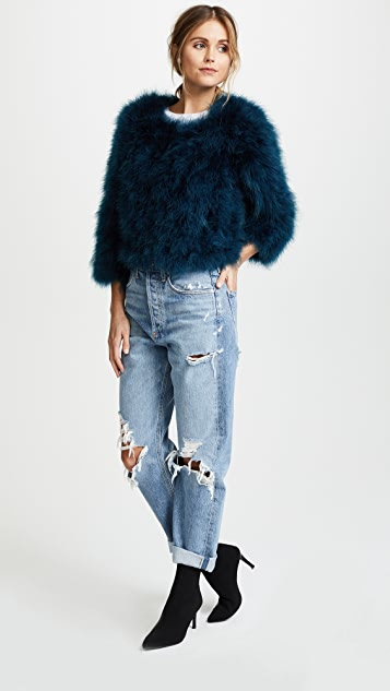 Yumi Kim Away We Go Feather Jacket