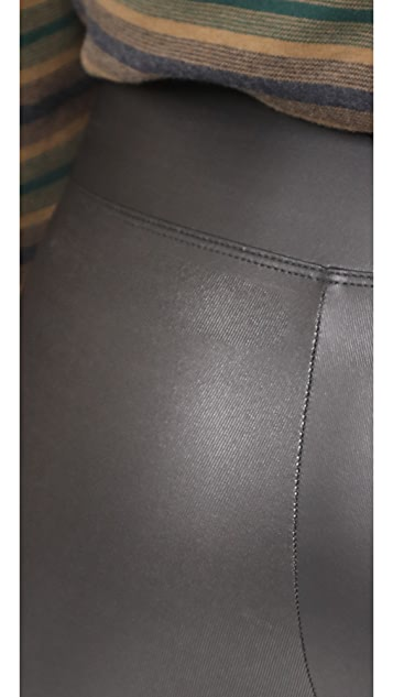 Yummie Tony Faux Leather Leggings