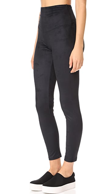 Yummie Faux Suede Signature Leggings