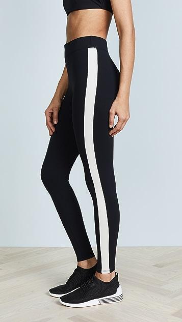 Yummie Tuxedo Stripe Ankle Leggings