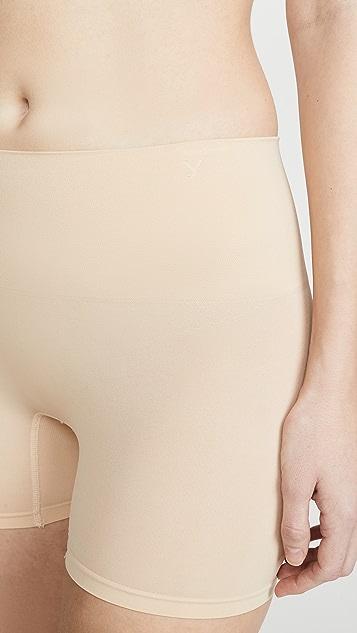 Yummie Seamlessly Shaped Ultralight Nylon Shorts