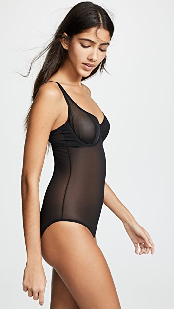 Yummie Shape High Leg Bodysuit