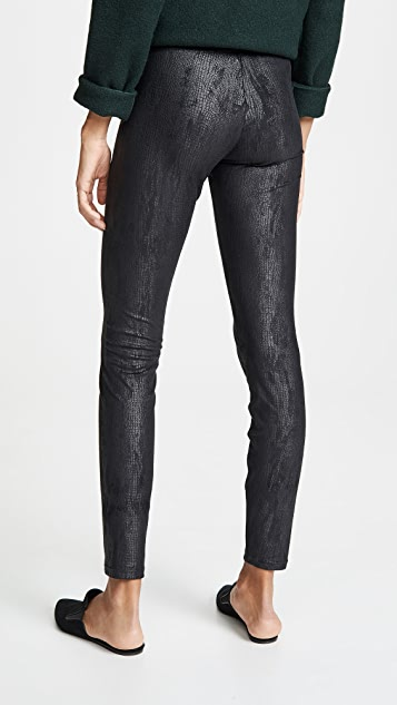 Yummie Faux Suede Signature Waistband Leggings