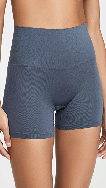 Yummie Ultralight Seamless Shorts - Ombre Blue