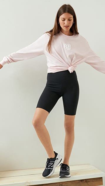 Yummie Mel Cotton Stretch Shaping Biker Shorts