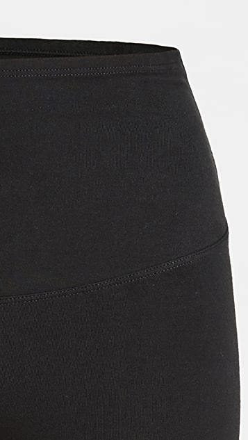 Yummie Mel Cotton Stretch Shaping Biker Shorts