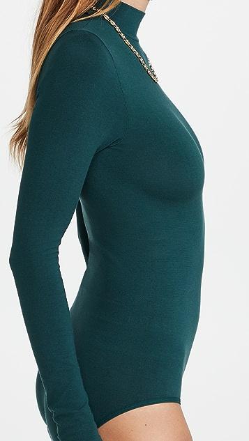 Yummie Madelyn Mock Neck Bodysuit