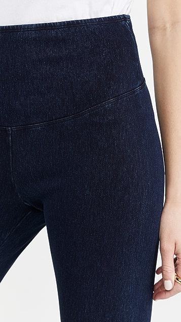 Yummie 标志性腰部牛仔布贴腿裤