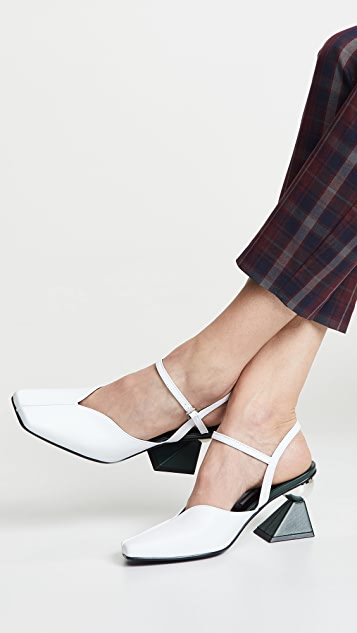 Yuul Yie Glam Ankle Strap Heels
