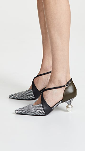 Yuul Yie Ankle Strap Cocktail Heels