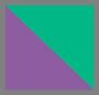 Фиолетовый/зеленый/оранжевый