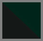 насыщенный зеленый питон/черный