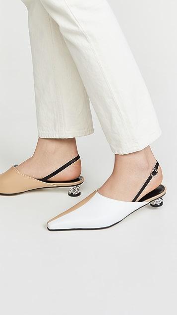 Yuul Yie Corn 露跟平底鞋