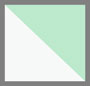白色鳄鱼纹/蕨绿