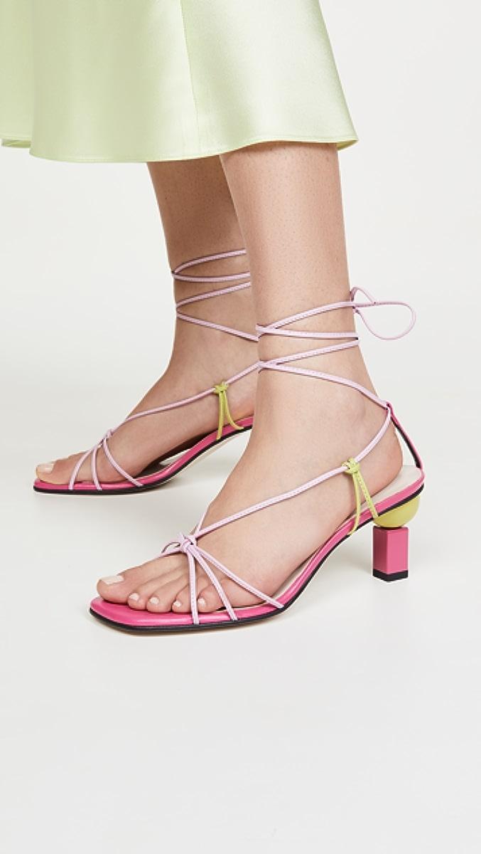Trophy Lace-Up Sandals