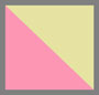 粉色/黄绿色