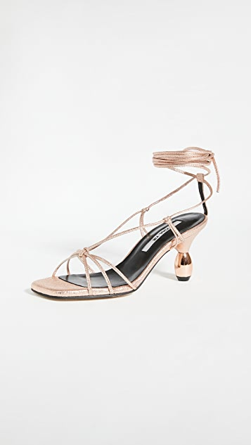 Yuul Yie Crystal Lace Up Sandals | SHOPBOP | End-of-Year Sale, Up to 75% Sale