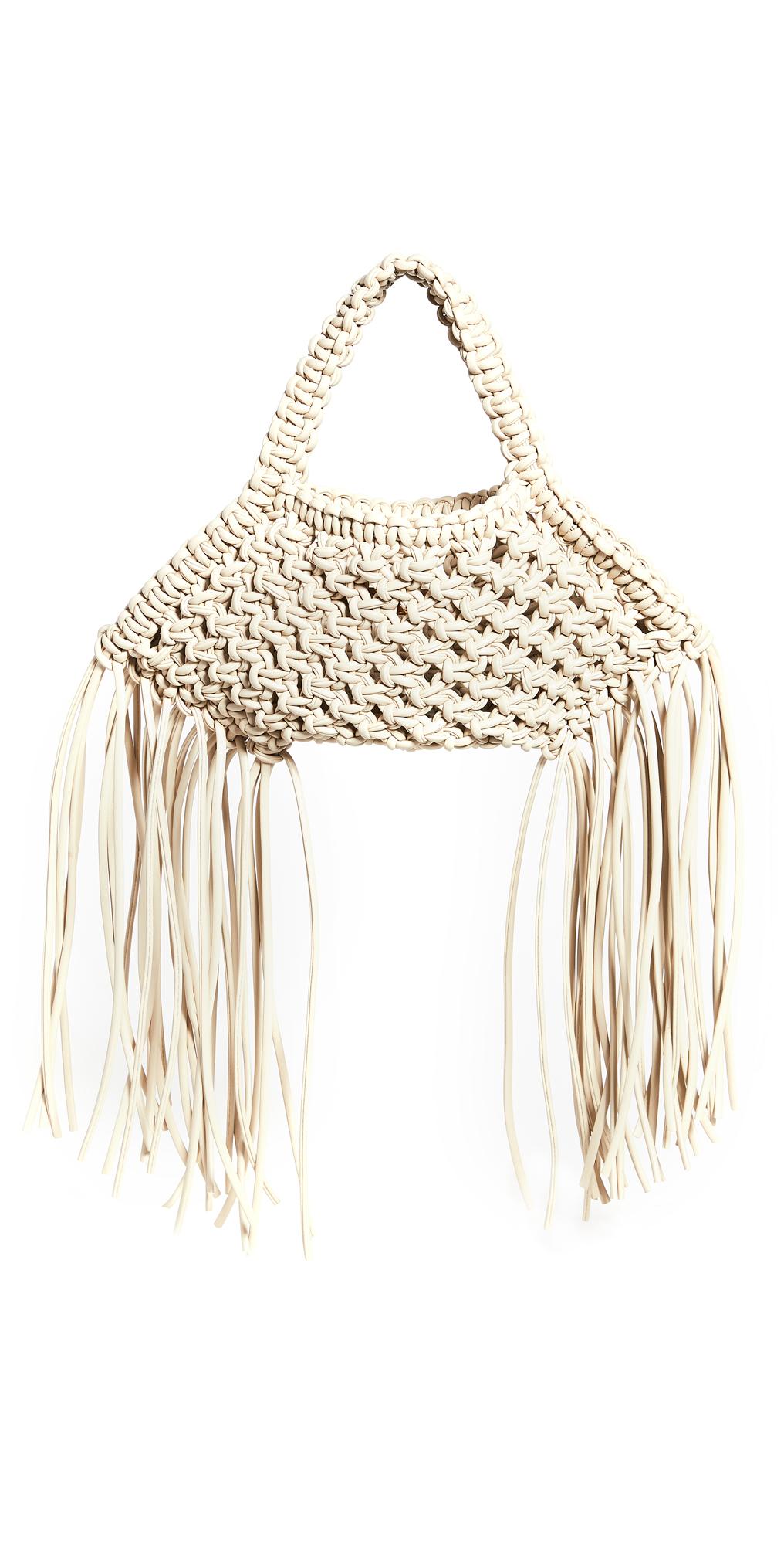 Yuzefi Mini Woven Basket Bag