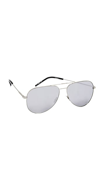 Saint Laurent Oversized Classic 11 Sunglasses