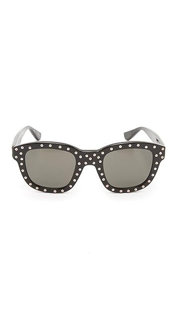 17850ff7ab ... Saint Laurent SL 100 Lou Sunglasses ...