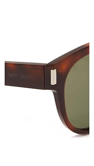 Saint Laurent SL 67 Mineral Lens Sunglasses