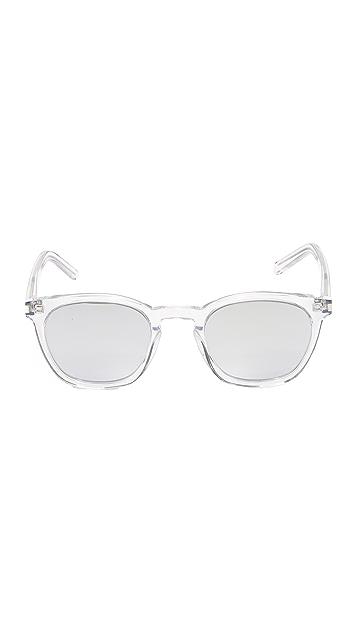 Saint Laurent SL 28 Mirrored Sunglasses