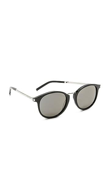 Saint Laurent SL 130 Combi Mineral Lens Sunglasses