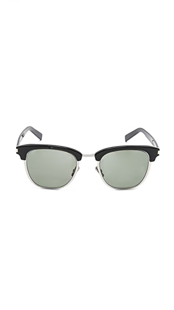Saint Laurent SL 108 Slim Sunglasses