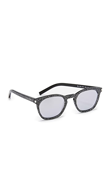 6c5f5f4741497 Saint Laurent SL 28 Sunglasses